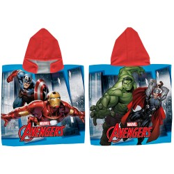 PONCHO AVENGERS POLIESTER 50*105 CMS - SH0281