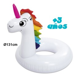 FLOTADOR UNICORNIO HINCHABLE 131 CMS -VE0112