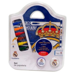 SET DE PAPELERIA MALETIN REAL MADRID - RM5349