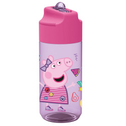 BOTELLA PEPPA PIG TRITAN 430 ML.-13936