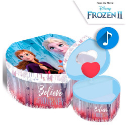 "JOYERO MUSICAL CORAZON ""FROZEN II "" - 20734"