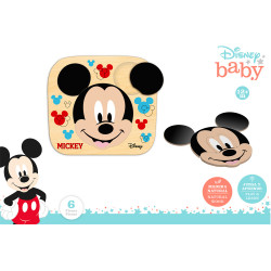 PUZZLE DISNEY MICKEY 6 PZS. MADERA NATURAL+12 M. 22*20 -48700