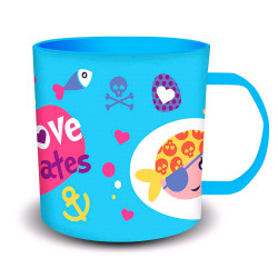 TAZA PIRATAS MICROONDAS 340ML - 10602