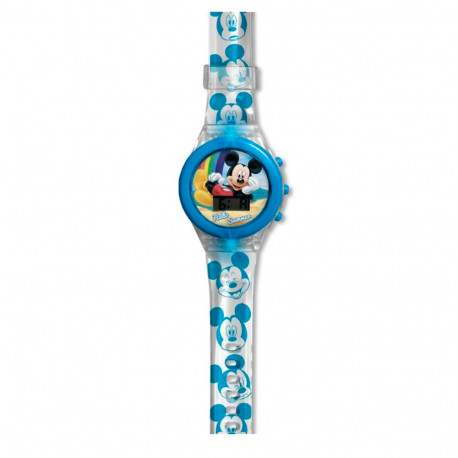 RELOJ MICKEY DIGITAL CON LUZ LED - 20368