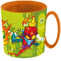 TAZA SUPER ZINGS 350 ML. MICROONDAS - 77258