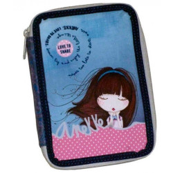 PLUMIER DOBLE ANEKKE MOON - 95100
