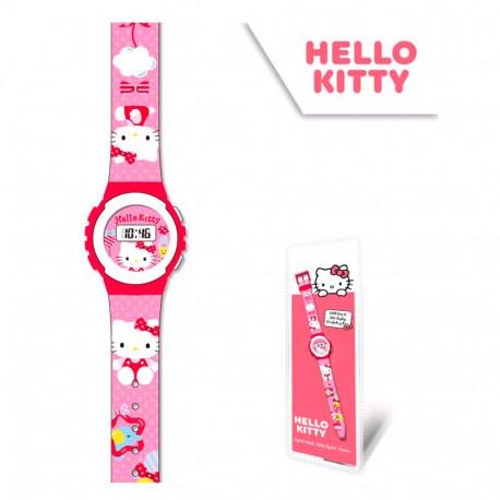 RELOJ HELLO KITTY DIGITAL 29*9 CMS - HK50029