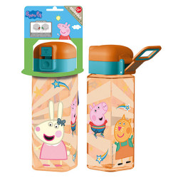 BOTELLA ROBOT PEPPA PIG 550 ML - 41202