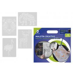MALETIN CREATIVO CON PLANTILLAS - 329596