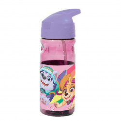 BOTELLA PAW PATROL CON CAÑA 550 ML LIBRE BPA- 555-16203