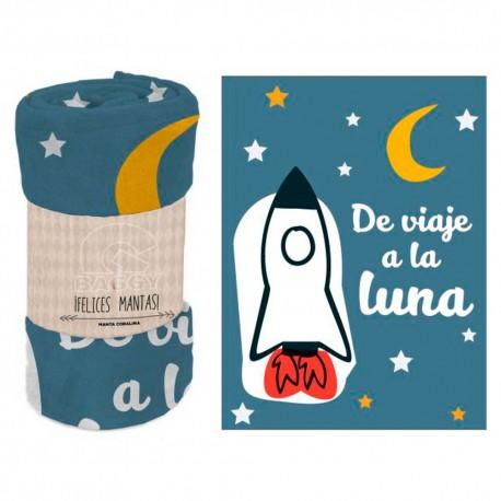 "MANTA CORALINA. "" DE VIAJE A LA LUNA"" -AST6351"