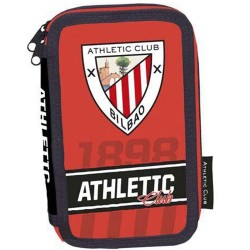 PLUMIER 3 COMPARTIMENTTOS ATHLETIC CLUB BILBAO -EP203AC