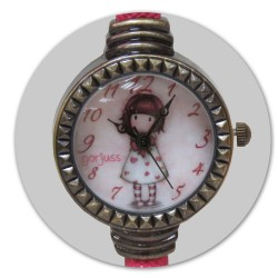 RELOJ DE PULSERA GORJUSS-LITTLE HEART- W05G