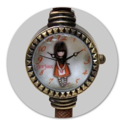RELOJ PULSERA GORJUSS-I GAVE YOU MY HEART- W06G
