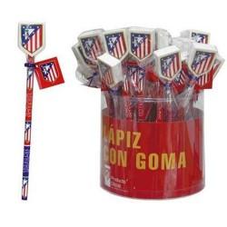 LAPIZ + GOMA ATLETICO DE MADRID TAMBOR 36 und. - TP06ATL