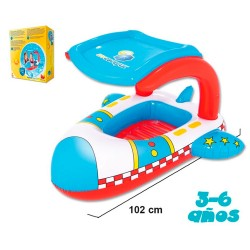 BARCA INFANTIL AVION PROTECCION UV 102*97 CMS - VE0045