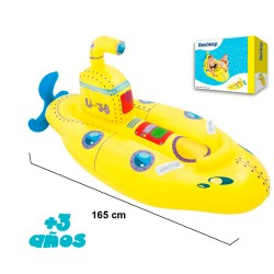 FIGURA SUBMARINO AMARILLO 165*86 CMS - VE0036