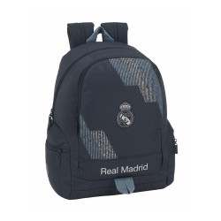 MOCHILA REAL MADRID 43 CM ADAPTABLE CARRO -RM5311