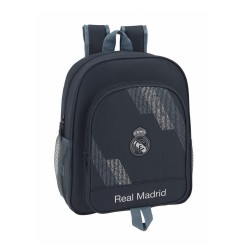MOCHILA REAL MADRID JUNIOR 38 CM ADAPTABLE CARRO -RM5313