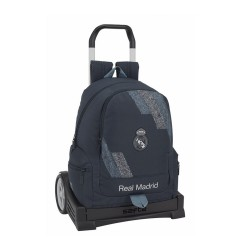 MOCHILA REAL MADRID 43 CM CARRO EVOLUTION EXTRAIBLE -RM5314