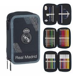 PLUMIER TRIPLE 41 PIEZAS REAL MADRID-RM5333