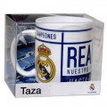 TAZA CERAMICA REAL MADRID EN CAJA- RM3233A