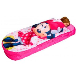 CAMA HINCHABLE + SACO DE DORMIR MINNIE - DS4869